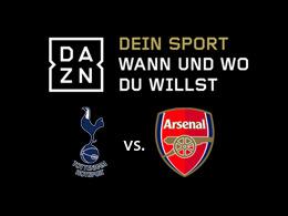 Live und auf Abruf: Tottenham vs. Arsenal