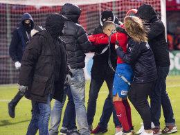 Nach Fan-Attacke: Larsson zieht Konsequenzen