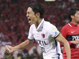 Kanazaki schießt Kashima ins Viertelfinale