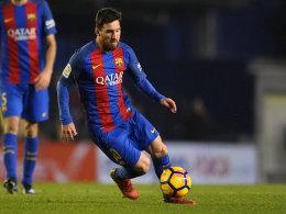 Golden Shoe: Messi & Co. rücken näher an Aubameyang heran