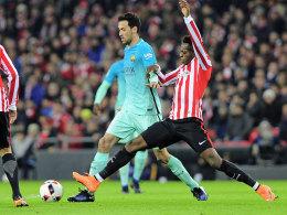 Bilbao schlägt zu neunt den FC Barcelona