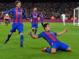 Barça dank