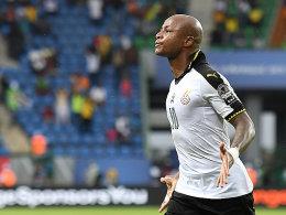 Ghana startet mit Sieg - Schalkes Baba verletzt