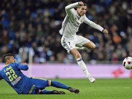 Vigo ärgert Real: Verrückte sechs Minuten im Bernabeu