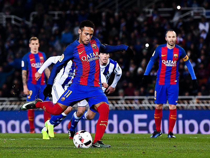 Neymar lässt Barça jubeln   Atletico ganz effizient