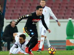 Callejon köpft Neapel ins Coppa-Halbfinale
