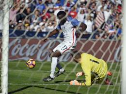 USA: Nullnummer im ersten Spiel nach Klinsmann