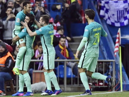 Barça: zwei Traumtore - Atletico: zwei Gesichter
