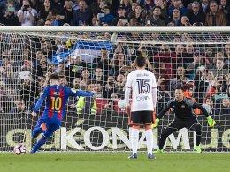 Golden Shoe: Messi macht die 50 voll - Dost im Nacken