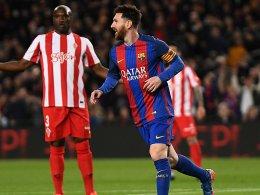 Barça dreht auf - ein halbes Dutzend für Gijon