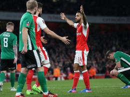 5:0 - Arsenal macht's in Hälfte zwei deutlich
