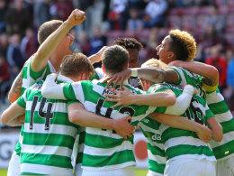 Acht Spiele vor Schluss: Celtic erneut Meister