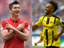 Golden Shoe: Lewandowski und Aubameyang jagen Messi