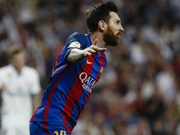 Golden Shoe: Messi setzt sich ab