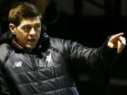 Vereinsikone Gerrard trainiert Liverpools U 18
