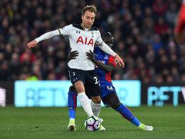 Eriksen-Hammer erlöst Spurs - Arsenal glücklich