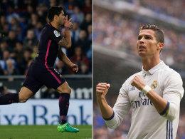 Nach Arbeitssiegen: Real und Barça im Gleichschritt