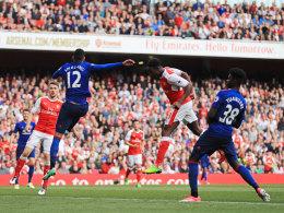 2:0 gegen ManUnited: Arsenal wahrt CL-Chance