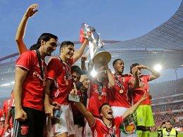 Benfica feiert 36. Meisterschaft
