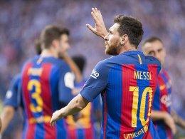 Golden Shoe: Messi ist die Nummer eins