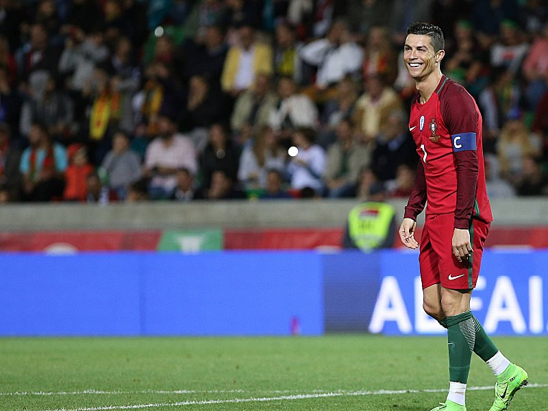 Portugal Bei Confed Cup Mit Ronaldo Int Fußball Kicker