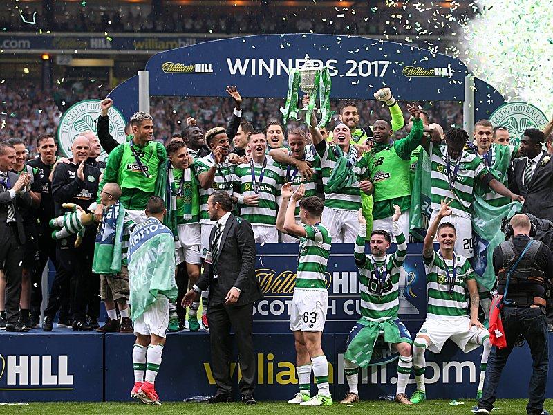 Celtic erringt zum vierten Mal das Triple: 37. Pokaltriumph