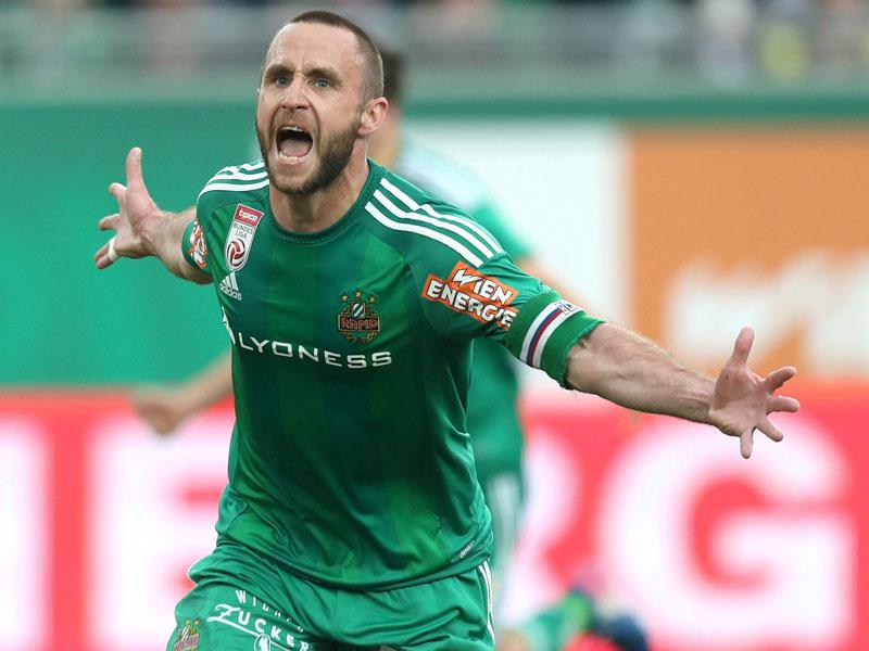 Hofmann steht vor Pflichtspiel-Rekord im Trikot von Rapid