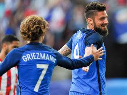 Giroud in Torlaune - Dreierpack gegen Paraguay