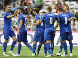 Italien siegt souverän - Morata sichert Spanien Remis