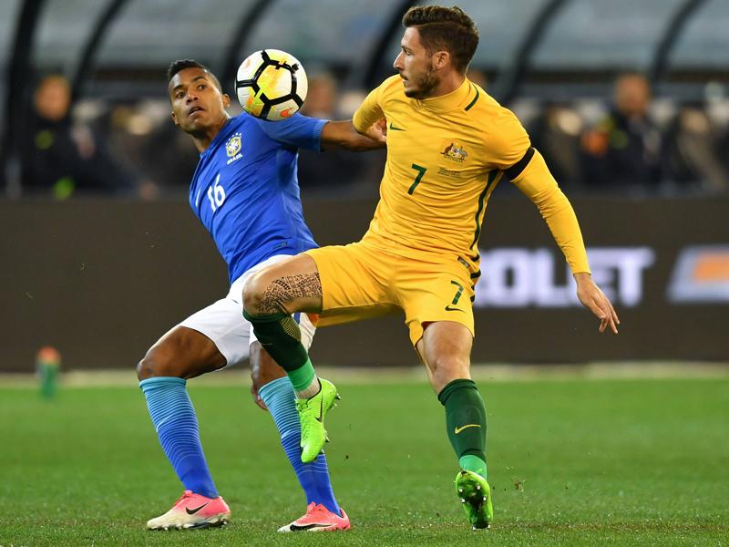 Fußball: Brasilien gewann Testspiel in Australien locker mit 4:0