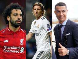 Salah, Modric oder Ronaldo - die UEFA kürt den Besten