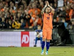 Sneijder spürt ein letztes Mal das