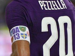 Serie A lenkt ein: Florenz darf Erinnerungsbinde tragen