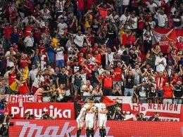 Plötzlich ganz oben: Stehaufmännchen Sevilla