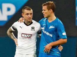 Schlägerei: Russischen Nationalspielern droht Gefängnis