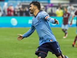 Portland und New York weiter - Gressel gegen David Villa