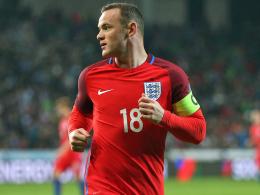 Mit Verspätung: Rooney bekommt seinen England-Abschied
