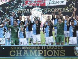 Kawasaki verteidigt den Titel in der J-League