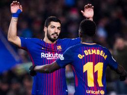 Suarez über Dembelé: