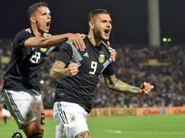 2:0 Argentinien: Premieren für Icardi und Dybala