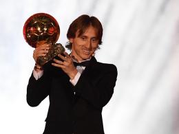 Auch der Ballon d'Or geht an Luka Modric