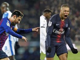 Golden Shoe: Messi spürt Mbappé im Nacken