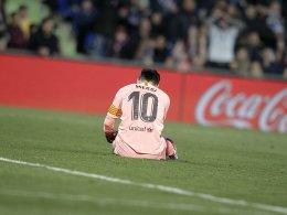 Golden Shoe: Messi baut Führung aus