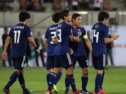 Makellos: Japan dreht das Spiel