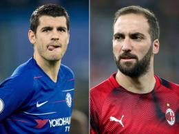 Chelsea holt Sarri-Liebling Higuain - Morata vor Wechsel