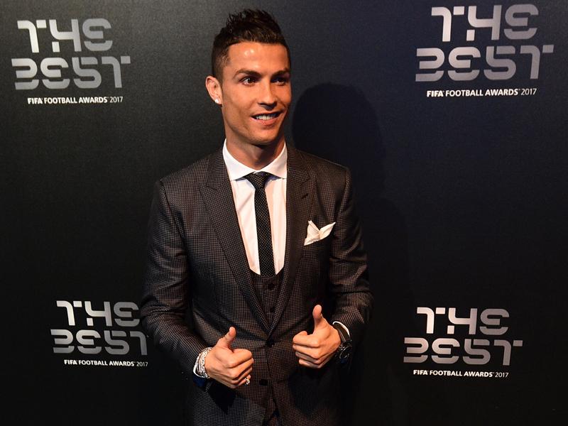 Cristiano Ronaldo thront über dem Rest
