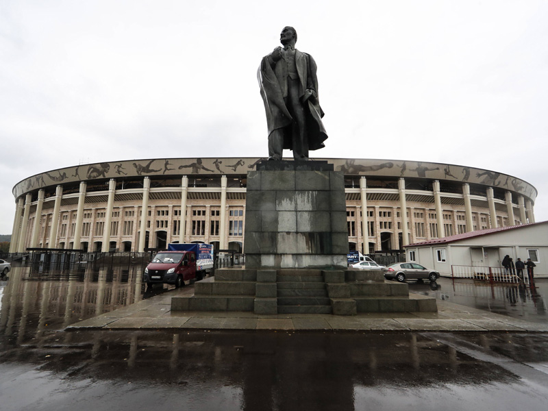 Das neue Luschniki-Stadion in Bildern