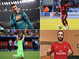 CR7, Kepa, Higuain & Co.: Die internationalen Top-Transfers