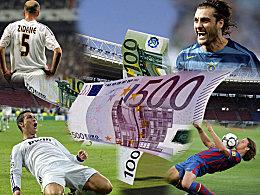 Pogba vor Bale und Ronaldo: Die teuersten Fu�baller der Welt