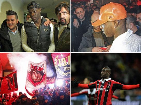 Mario Balotelli brauchte nicht mal eine Woche, um beim AC Milan zum Held zu werden.